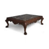English Marble Top Coffee Table 1