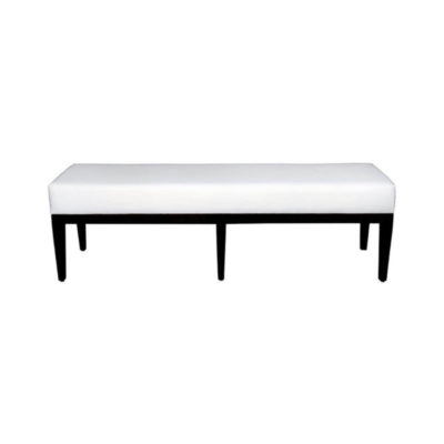 Enzo Upholstered End Of Bed Bench Front View