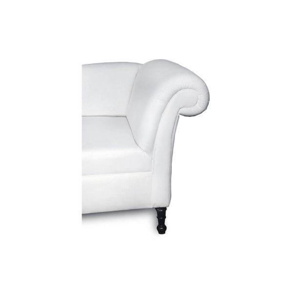 Ethan Upholstered Curved 2 Seater Sofa Arm Details
