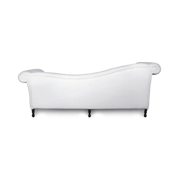 Ethan Upholstered Curved 2 Seater Sofa Back