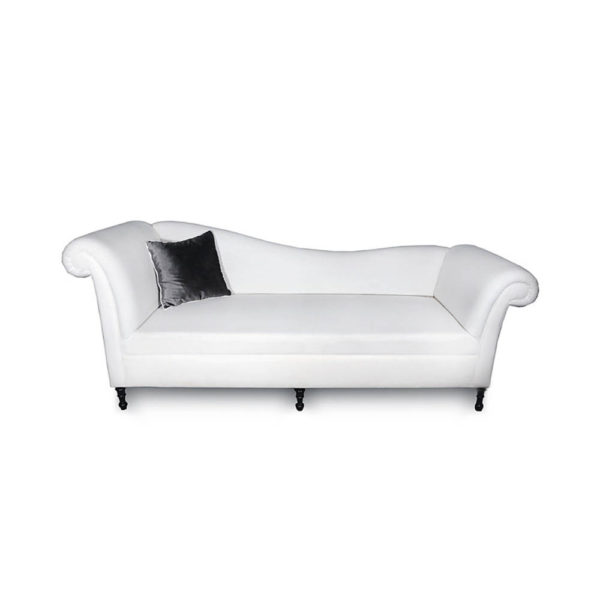 Ethan Upholstered Curved 2 Seater Sofa Cushion