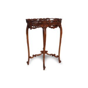 French Antique Reproduction Side Table Details