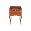 French Antique Secretary with Marquetry Veneer Inlay 1