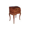 French Antique Secretary with Marquetry Veneer Inlay 2
