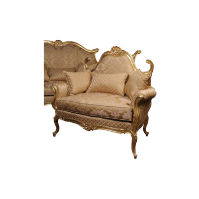 French Gold Classic Salon and Chairs