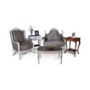 French Gray Love Seat 7