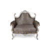 French Gray Love Seat 1