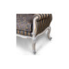 French Gray Love Seat 5