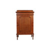 French Marquetry Chest with Natural Veneer Inlay 1