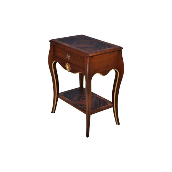 French Polished Louis XV Side Table