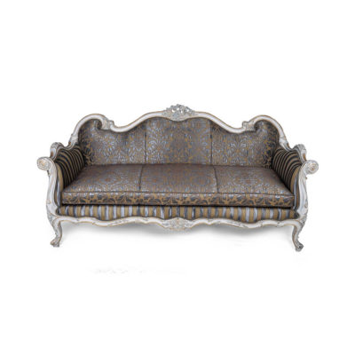 French Reproduction Salon Grey Seating
