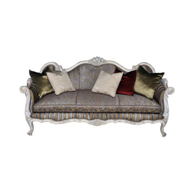 French Reproduction Salon Grey with Cushions