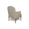 French Style Arm Chair in Distressed Frame Finish 2