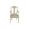 French Style Dining Chair Gray 1