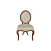 Gavra Upholstered Round Back Dining Chair 1