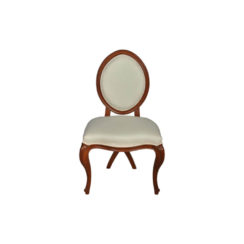 Gavra Upholstered Round Back Dining Chair