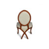 Gavra Upholstered Round Back Dining Chair 3