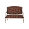 Gilded French Sofa Gray 1