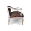 Gilded French Sofa Gray 6