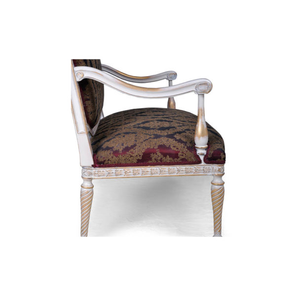 Gilded French Sofa Seating Arm