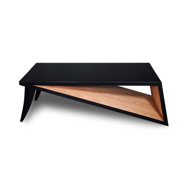 Jayden Black Lacquer Coffee Table Top