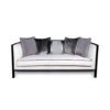 Lares Upholstered with Wood Frame Sofa 5