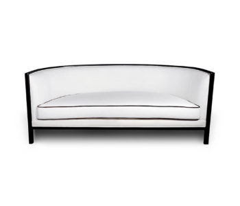 Lares Upholstered with Wood Frame Sofa Front