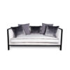 Lares Upholstered with Wood Frame Sofa 4