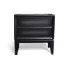 Levi Two Drawer Wooden Bedside Table 2