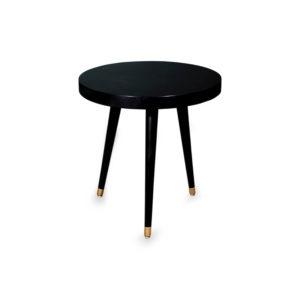 Lucas Round Three Legged Side Table