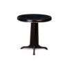 Malte Round Wooden with Gold Frame Side Table 1