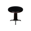 Malte Round Wooden with Gold Frame Side Table 2