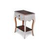 Mandarine Louis XV Side Table White 1