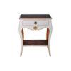 Mandarine Louis XV Side Table White 2