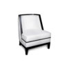 Manuel Upholstered Wood Frame Accent Chair 2