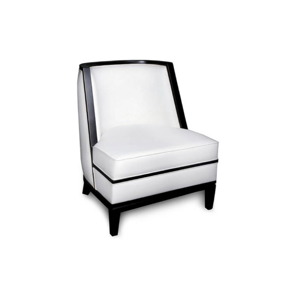 Manuel Upholstered Wood Frame Accent Chair