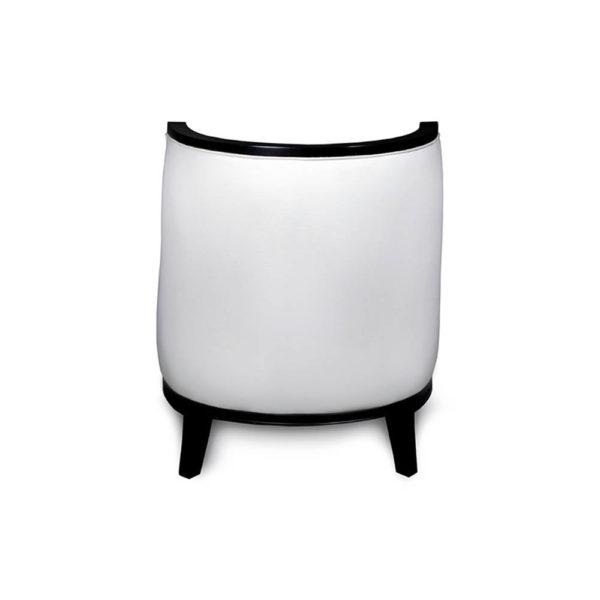 Manuel Upholstered Wood Frame Accent Chair Back