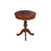 Marquetry Top Side Table 1