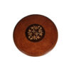 Marquetry Top Side Table 2