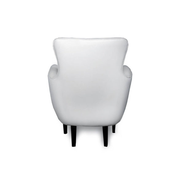 Mathis Upholstered Occasional Arm Chair Back