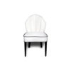 Noa Upholstered Scoop Back Dining Chair 1