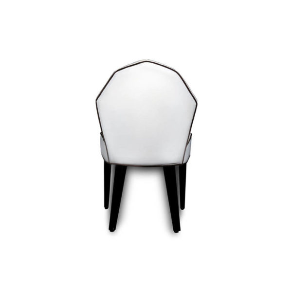 Noa Upholstered Scoop Back Dining Chair Back