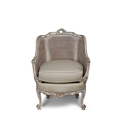 Rattan Back Armchair Plus Seat Cushion