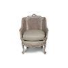 Rattan Back Armchair Plus Seat Cushion 1