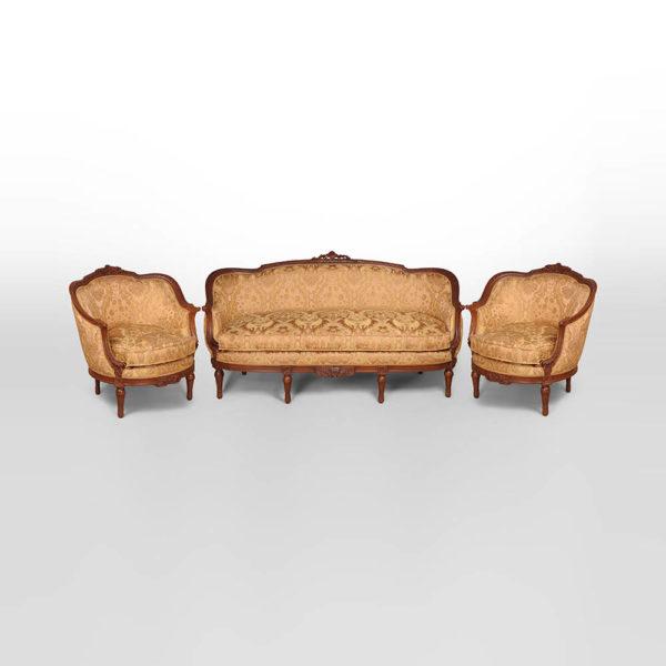 Reproduction French Sofa Set