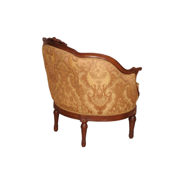 Reproduction French Sofa Side View