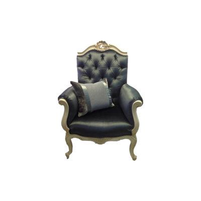 Rococo Style Armchair
