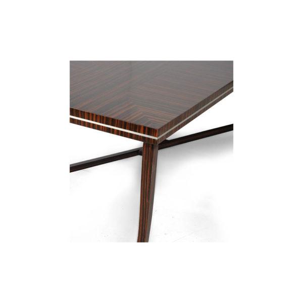 Silvio Rectangular Wooden Coffee Table UK Detail
