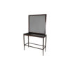 Silvio Wooden with Marble Top and Mirror Console Table 1