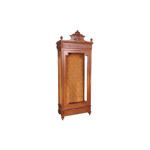 Tall Narrow Cabinet Side View